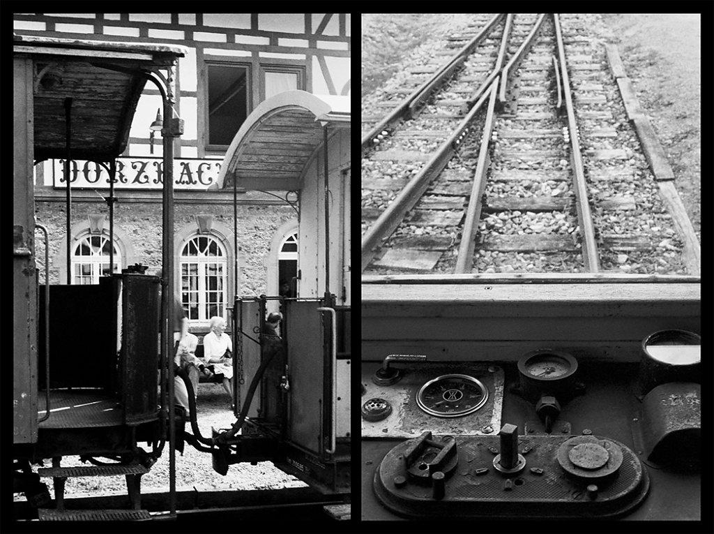 Bahnhof Dörzbach am Tag des offenen Denkmals